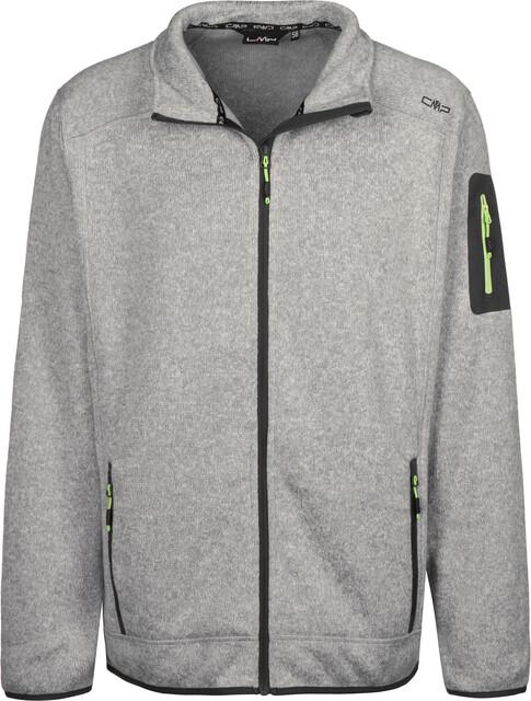 CMP Campagnolo 3H60747N Fleece Jas Heren, grey